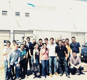 Alumnos de EDDM Training visitan ACITURRI